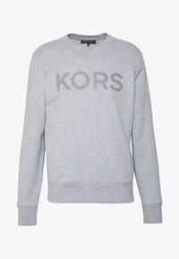 Michael Kors - GARMENT DYE LOGO - Sweatshirt - heather grey - 3