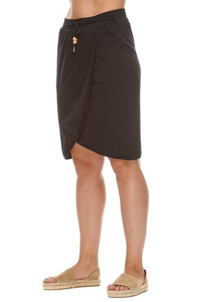 Wrap skirt - schwarz