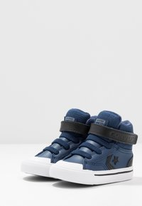Converse - PRO BLAZE STRAP MARTIAN - Zapatillas altas - navy/black/cool grey - 3