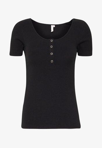 NOOS  - Print T-shirt - black