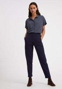 ARMEDANGELS - NAALA - Button-down blouse - indigo - 1