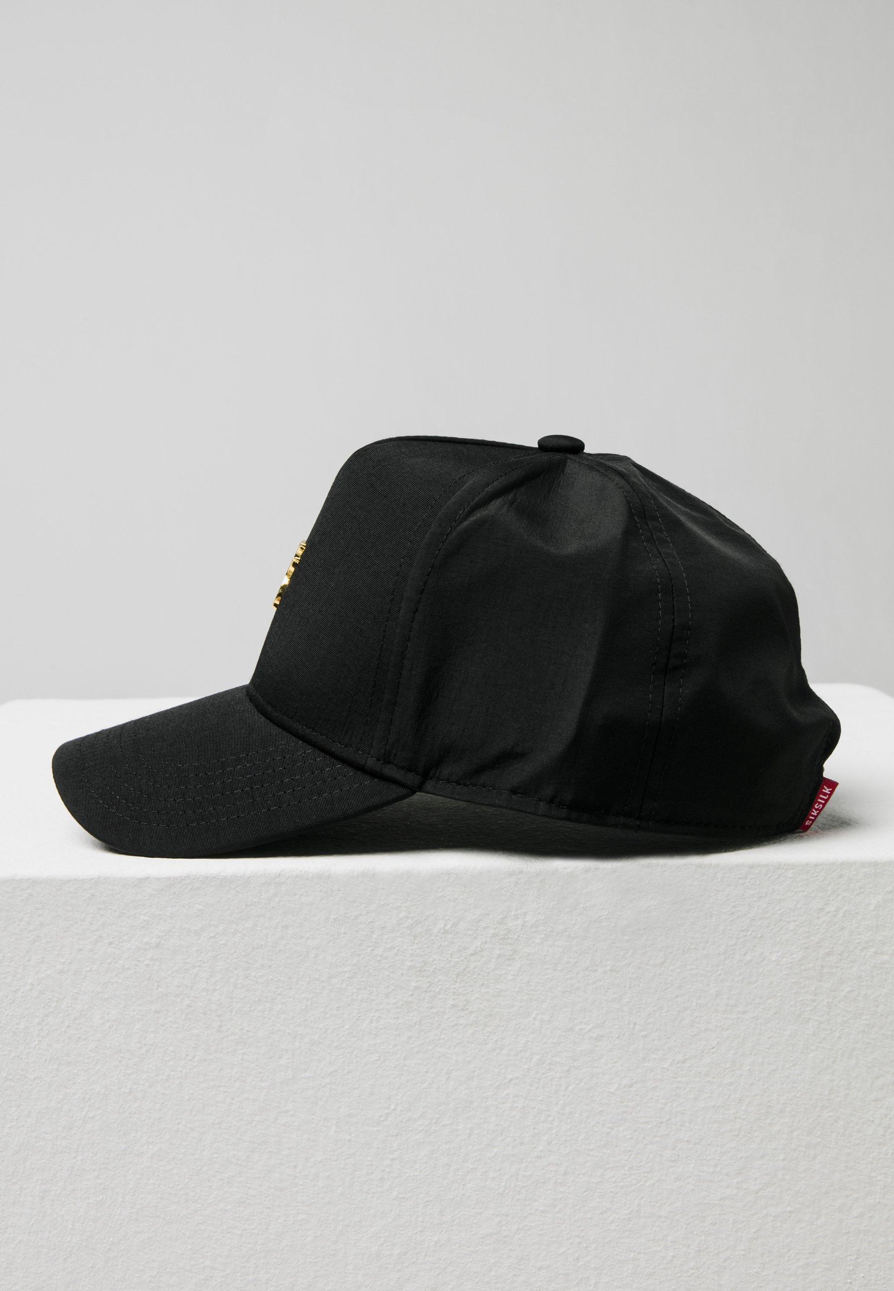 Siksilk Cap - Black/schwarz
