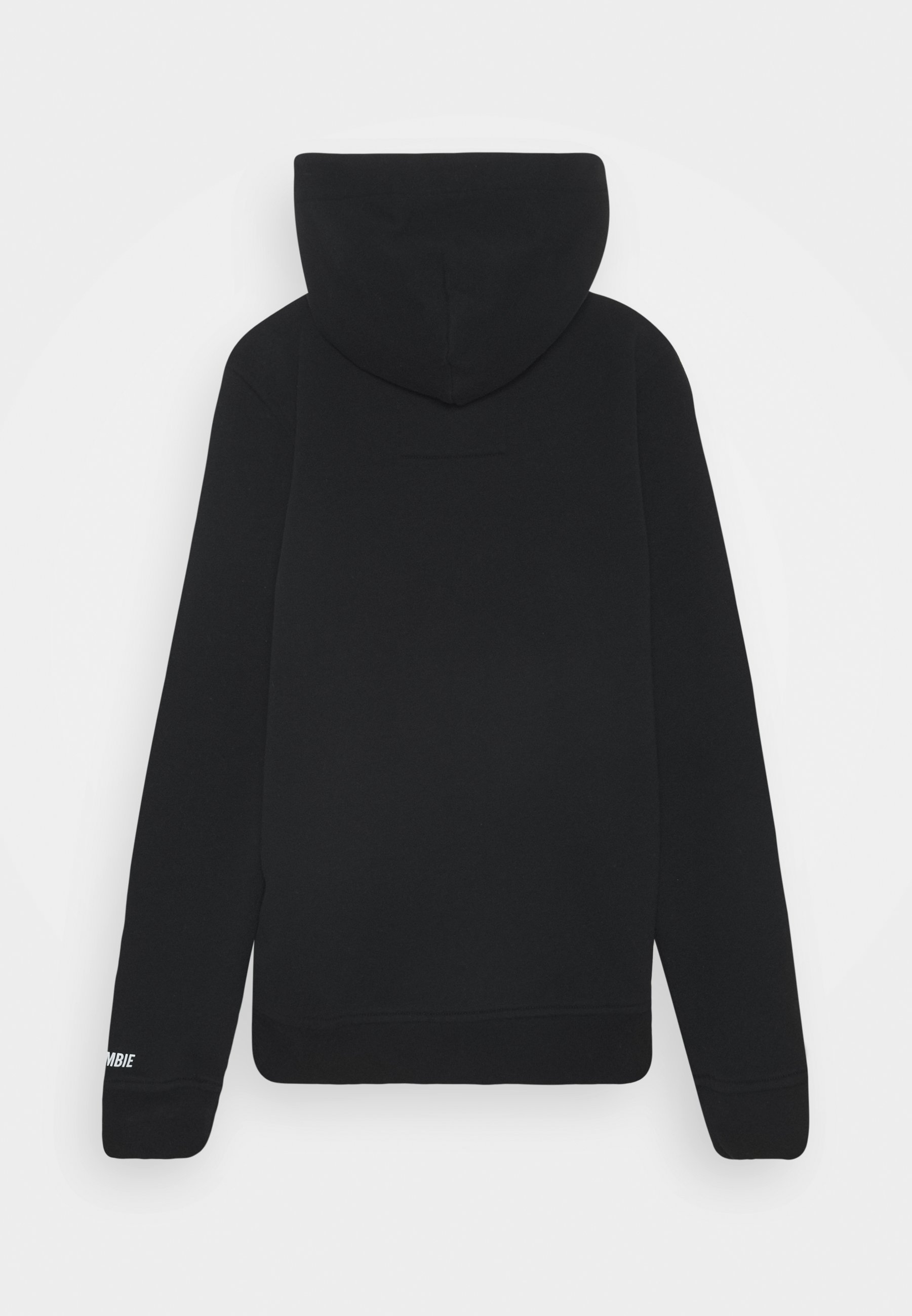 SHERPA HOOD SWEATSHIRT CHUCK PATCH BLACK