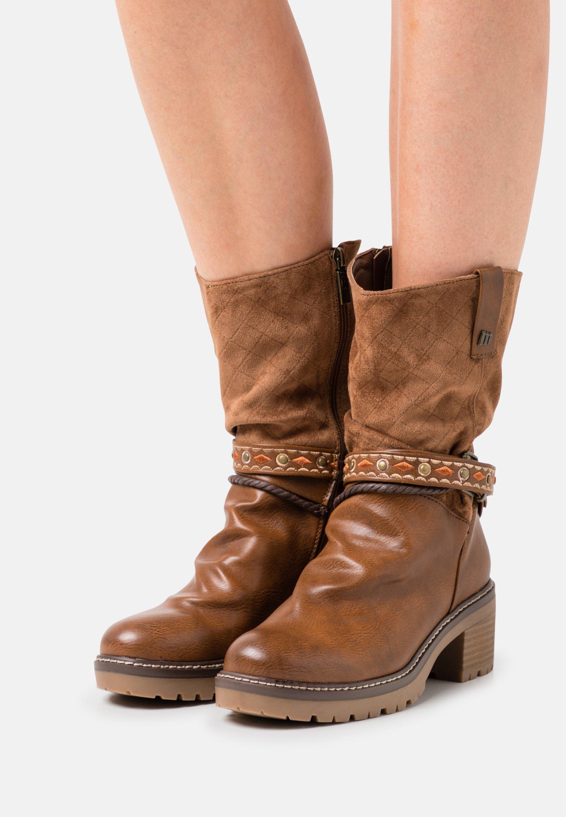 Women DORIS - Cowboy/Biker boots - lantana