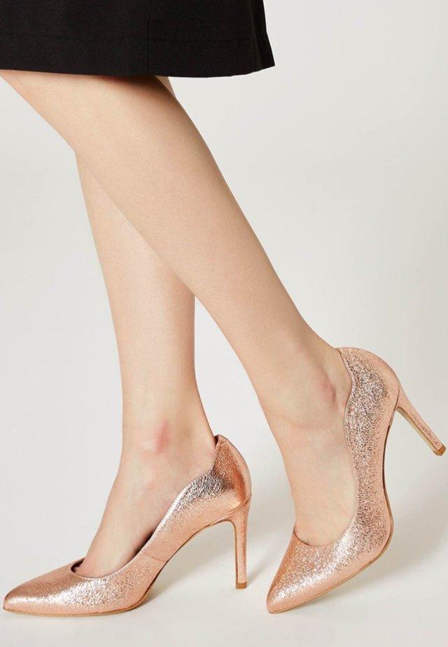 Zapatos altos - copper