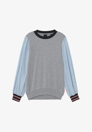 LOOSE WOVEN SLEEVES - T-shirt à manches longues - grey