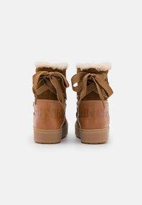 See by Chloé - Kotníkové boty na platformě - light brown - 3