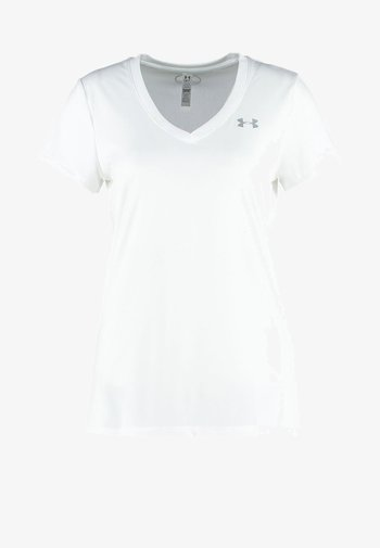TECH SOLID - Basic T-shirt - white