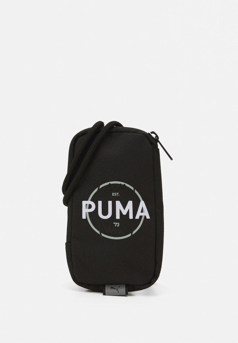 Puma - BASKETBALL NECK WALLET - Taška spříčným popruhem - puma black