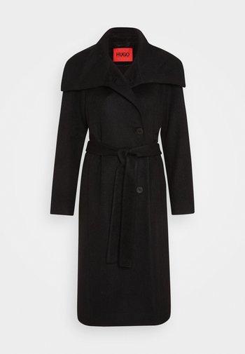 MASELI - Cappotto classico - black