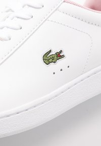 Lacoste - CARNABY EVO  - Trainers - white/light pink - 2