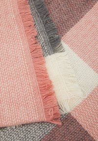 ONLY - ONLALDINI SQUARE SCARF  - Foulard - dusty rose/ecru - 2