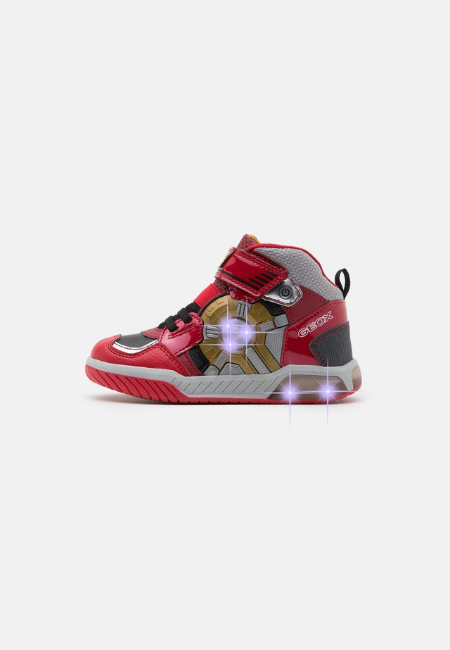 INEK BOY - Sneakersy wysokie - red