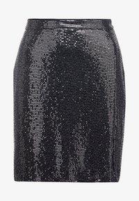 STUDIO ID - GRETA SKIRT - Blyantnederdel / pencil skirts - silver sequin - 3