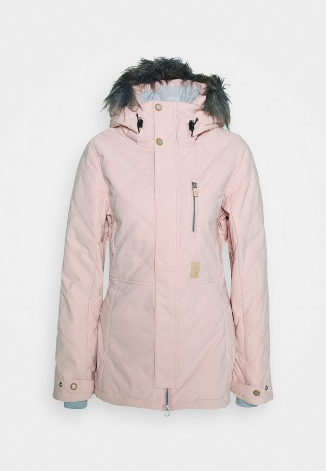 MIKA JACKET - Snowboardjacke - misty rose