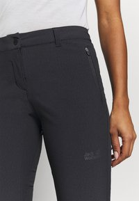 Jack Wolfskin - ACTIVATE SKY PANTS - Trousers - black - 6