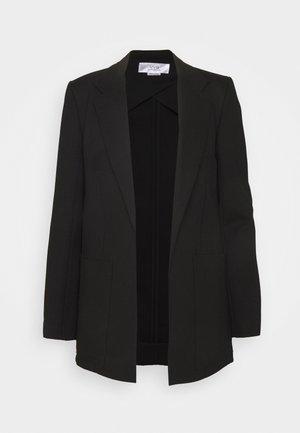 PATCH POCKET JACKET - Krátký kabát - black