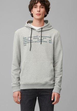 MIT DOPPELLAGIGER KAPUZE - Sweatshirt - grey