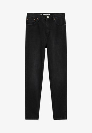 NEWMOM - Slim fit jeans - black denim