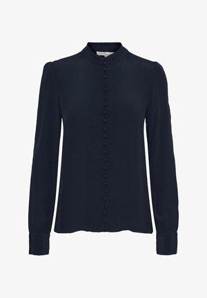 JAPANISCHER - Overhemdblouse - navy blazer