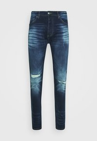 CAMERON - Džíny Slim Fit - dark blue wash