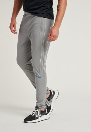 Tracksuit bottoms - sharkskin