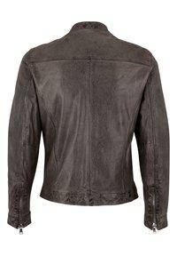 Capitano - Leather jacket - grey - 4