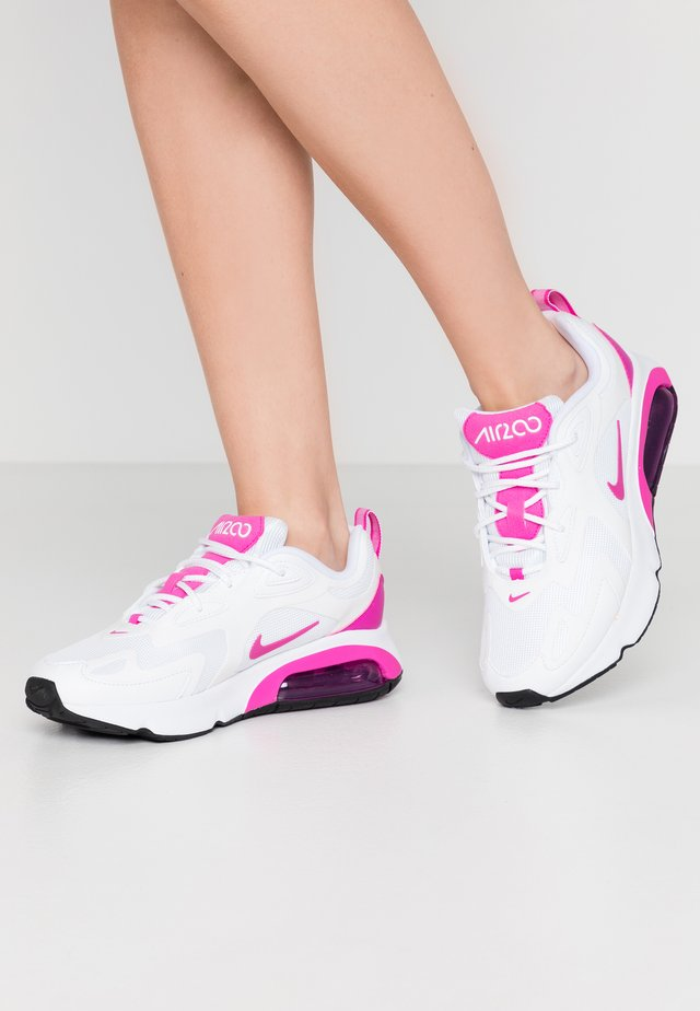 AIR MAX 200 - Trainers - white/fire pink/black