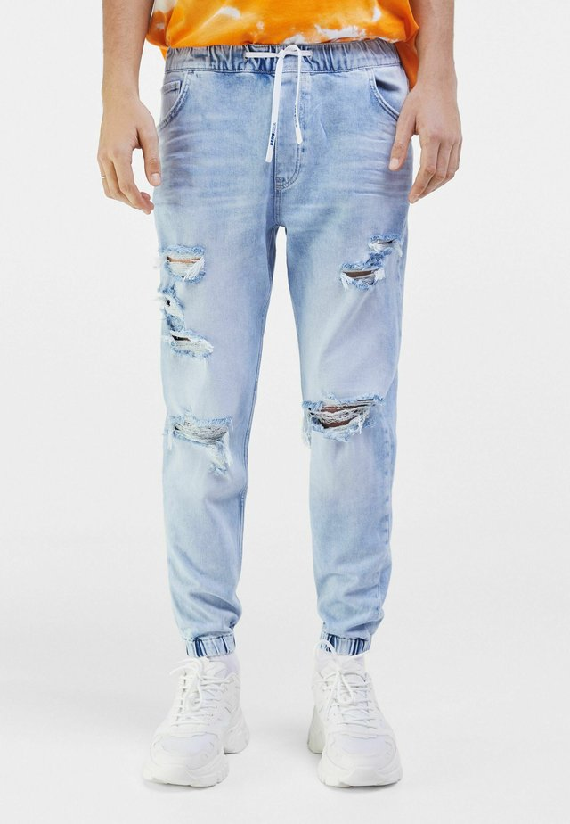 Jeans Tapered Fit - light blue