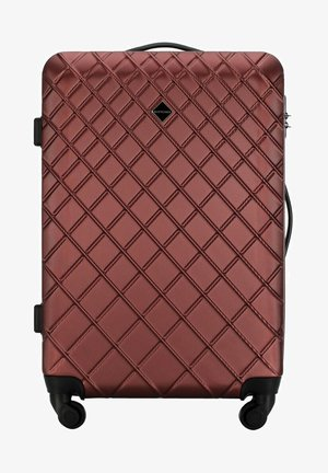 CLASSIC - Wheeled suitcase - burgund