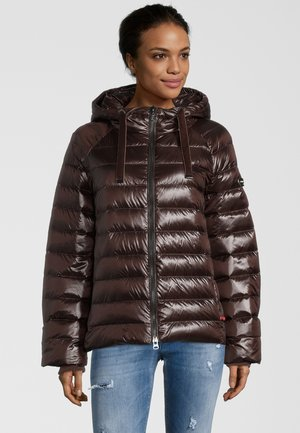 MAXIME - Down jacket - chocolate