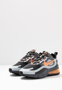 Nike Sportswear - AIR MAX 270 REACT WTR - Sneakersy niskie - wolf grey/total orange/black/dark grey - 3