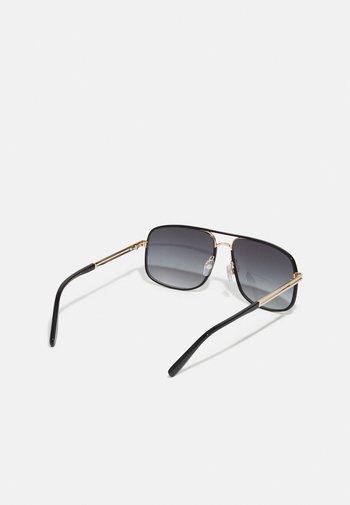 UNISEX - Solglasögon - gold-coloured/black