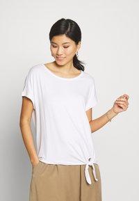 s.Oliver - KURZARM - Basic T-shirt - white - 0