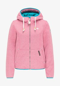Schmuddelwedda - Outdoor jacket - pink melange - 4