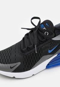 Nike Sportswear - AIR MAX 270 - Baskets basses - black/game royal/iron grey/white - 5