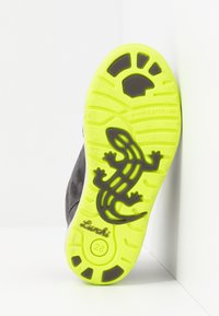 Lurchi - BARNEY-TEX - Sneaker high - charcoal/neon yellow - 4