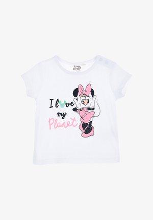 MINNIE  - Print T-shirt - weiß