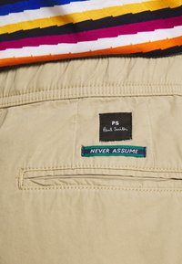 PS Paul Smith - DRAWSTRING TROUSER - Chinos - beige - 5