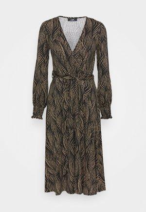RUNNING SPOT MIDI DRESS - Jersey dress - mono