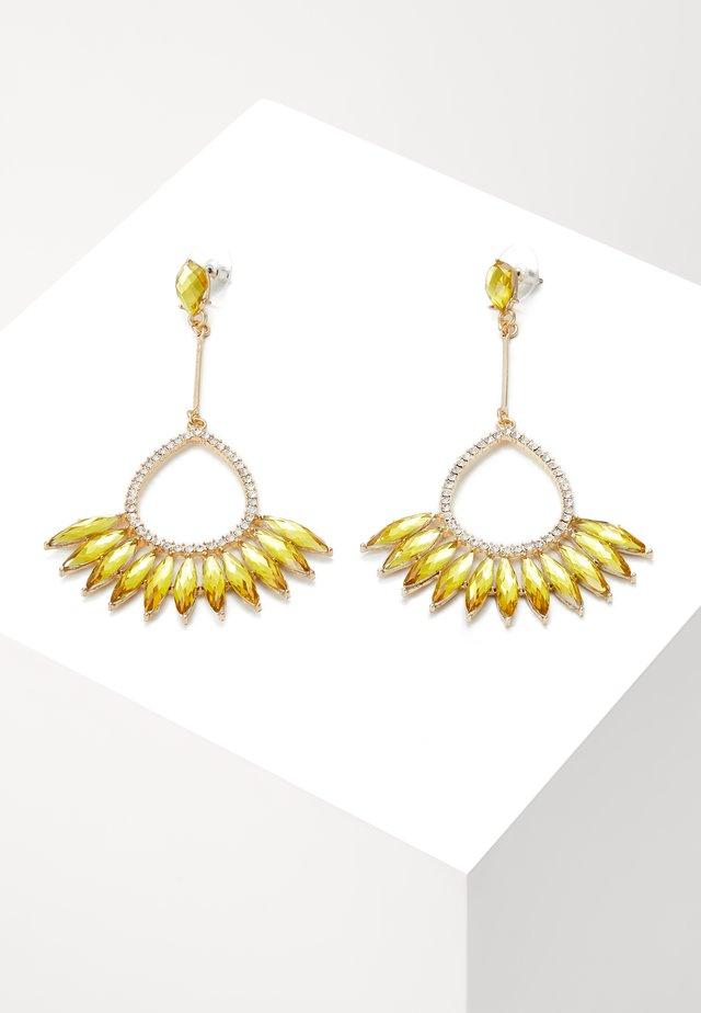 BIRD - Oorbellen - gold-coloured/yellow