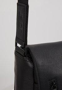 Jost - HYBRID MESSENGER BAG PEBBLE - Laptop bag - black - 6