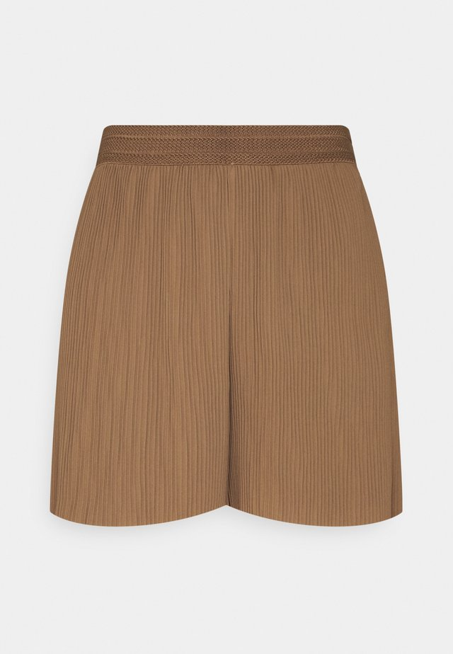 ONLMARIN PLISSE - Shorts - toasted coconut