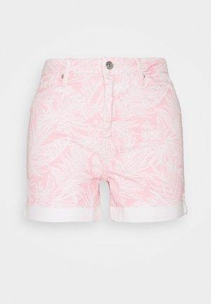 ROME MIKKI - Denim shorts - pastel pink