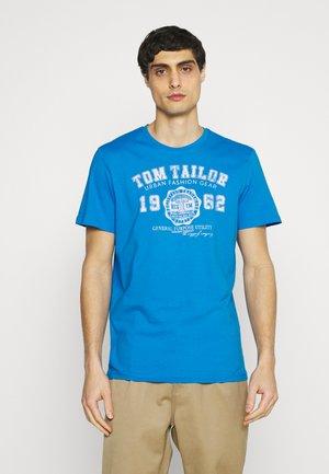 LOGO TEE - Print T-shirt - bright ibiza blue