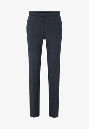 MERCER - Suit trousers - anthracite