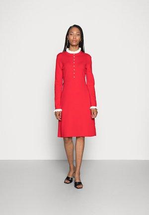 QUIMPER - Gebreide jurk - rouge