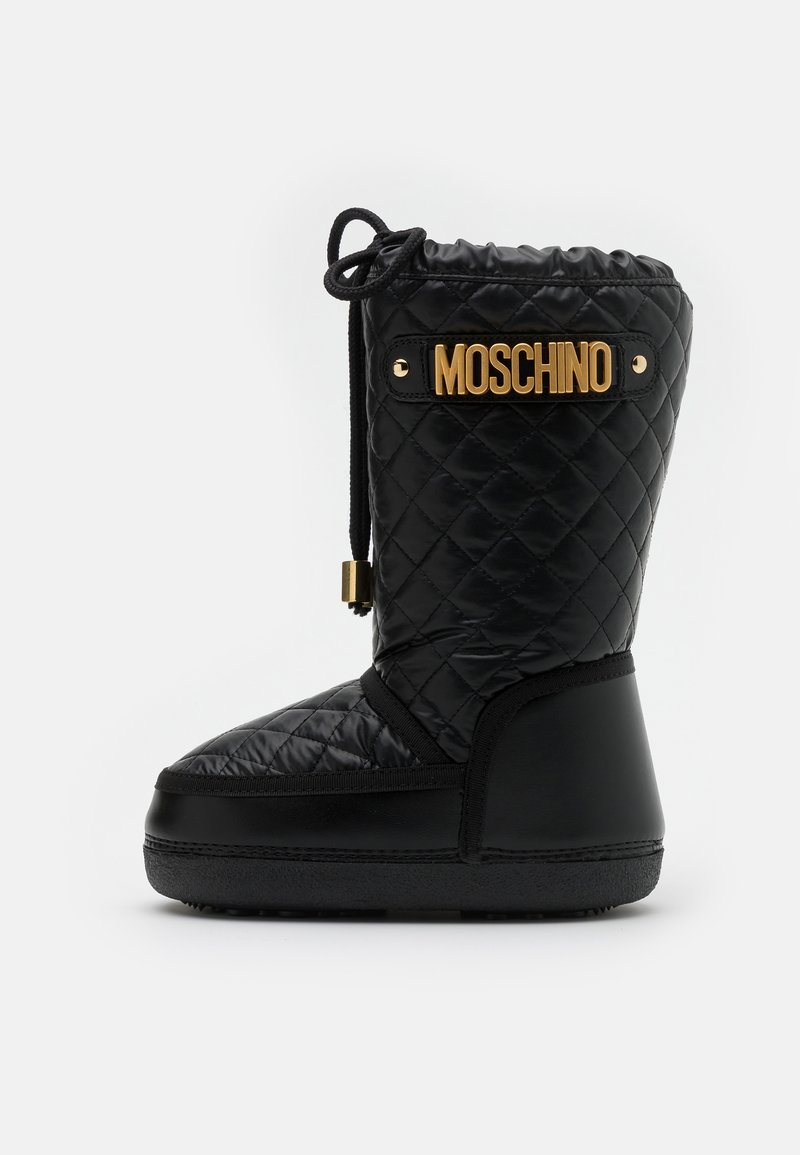 MOSCHINO - Snowboot/Winterstiefel - black
