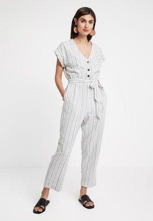 KIMONO - Overall / Jumpsuit - off-white/black