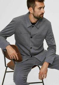 Selected Homme - Blazer jacket - light grey melange - 4